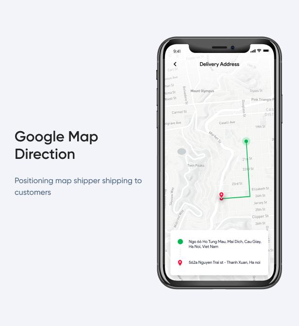 Google Map Direction