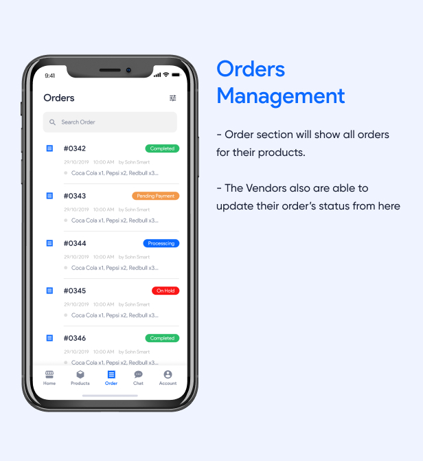 Orders Management